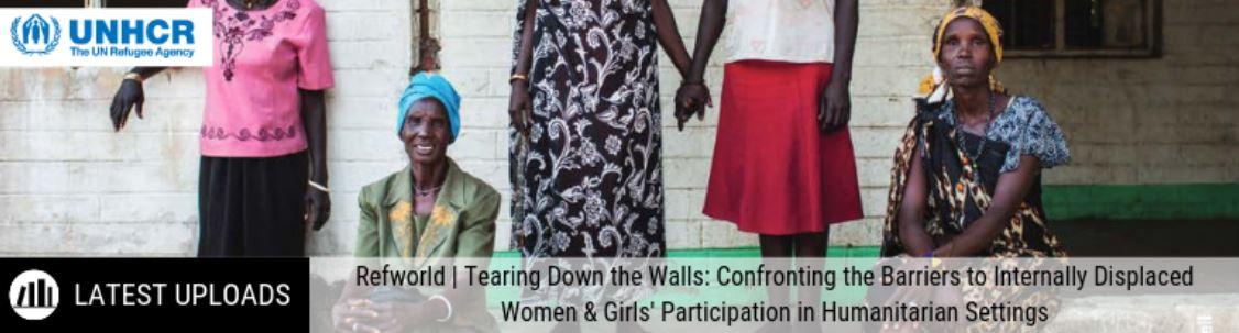 Internally Displaced Women and Girls